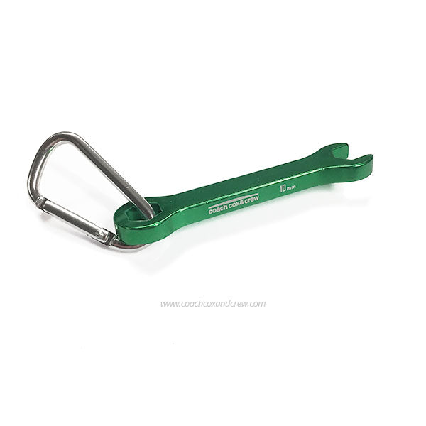 Rower's Wrench - Green 10mm