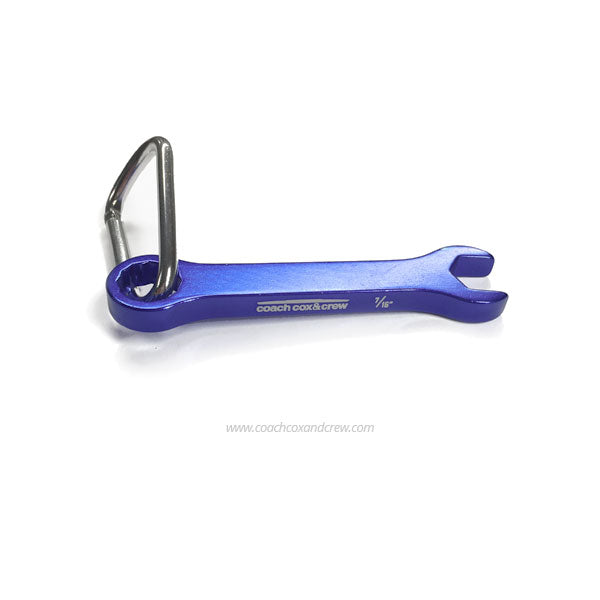 Rower's Wrench - Blue 7/16""
