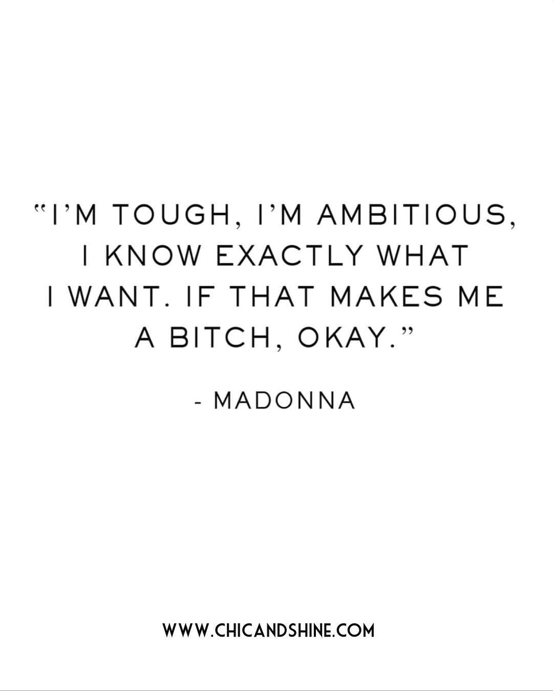 Shining Quotes! #madonnaquotes