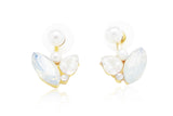 Beautifly Ear Jackets, , Earrings, Chic & Shine, Chic & Shine  - 1