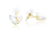 Beautifly Ear Jackets, , Earrings, Chic & Shine, Chic & Shine  - 5