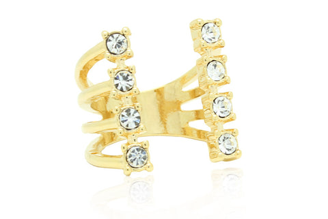 Crystal Crown Ring, , Rings, Chic & Shine, Chic & Shine  - 1