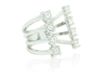 Crystal Crown Ring, , Rings, Chic & Shine, Chic & Shine  - 4