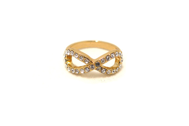 Crystal Infinity Ring, , Rings, Chic & Shine, Chic & Shine  - 3