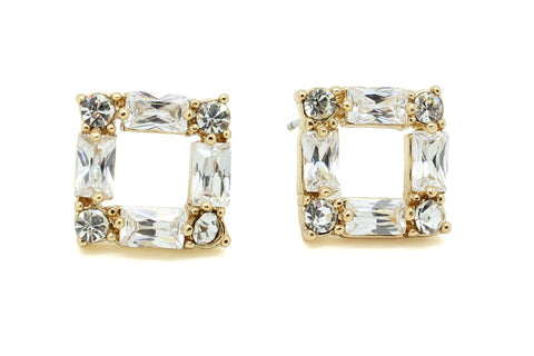 Cubic Cuteness Earrings, , Earrings, Chic & Shine, Chic & Shine  - 1
