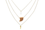 Layered by Pocahontas Necklace, , Necklaces, Chic & Shine, Chic & Shine  - 1