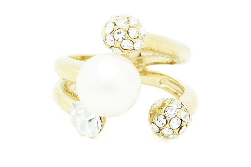 Pearl Party Ring, , Rings, Chic & Shine, Chic & Shine  - 1
