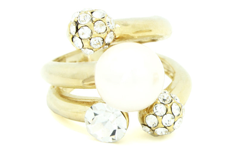 Pearl Party Ring, , Rings, Chic & Shine, Chic & Shine  - 4
