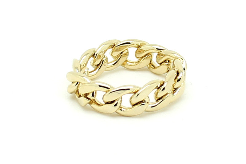 Chain Ring, , Rings, Chic & Shine, Chic & Shine  - 1