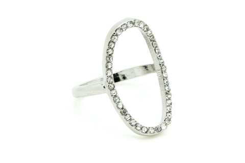 Missing Rock Ring, Silver / 7, Rings, Chic & Shine, Chic & Shine  - 7