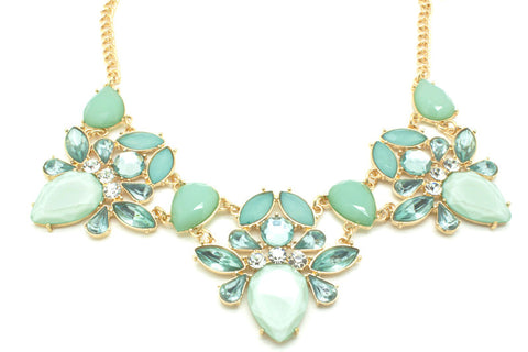Alluring Turquoise Necklace, , Necklaces, Chic & Shine, Chic & Shine  - 1