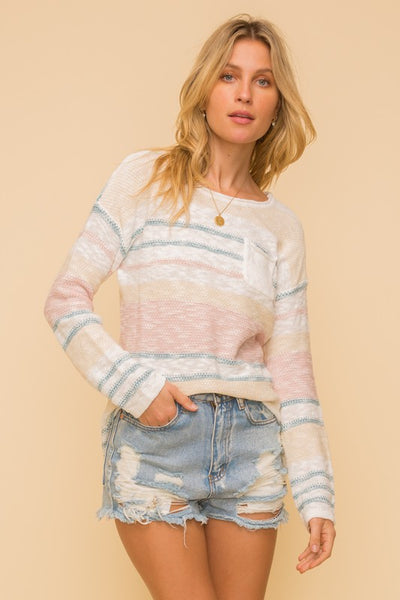 Aurora Stripe Sweater