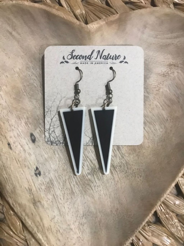 Borderline Dangle Earrings