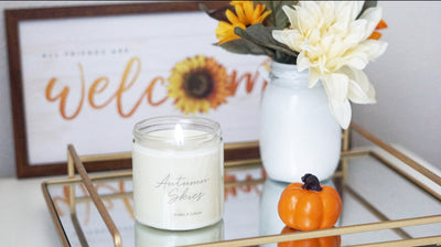 Autumn Skies Soy Candle - 8oz