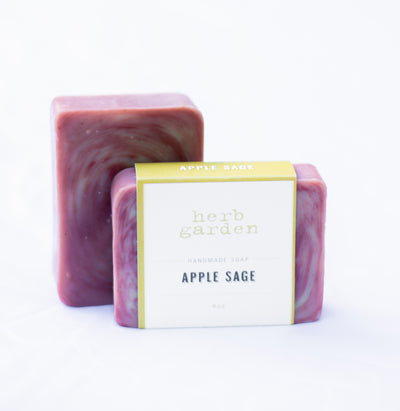 Handcrafted Soap - Apple Sage