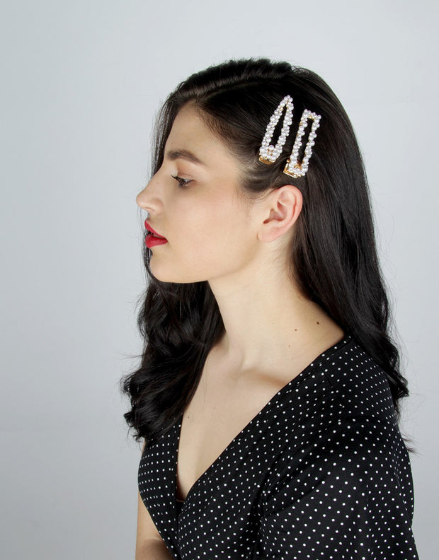 Embellished Hair Clips