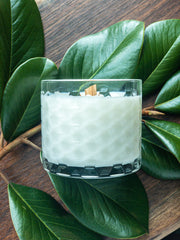Queen City Cashmere Wooden Wick Candle