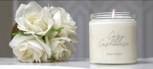 Cozy Cashmere - Soy Candle
