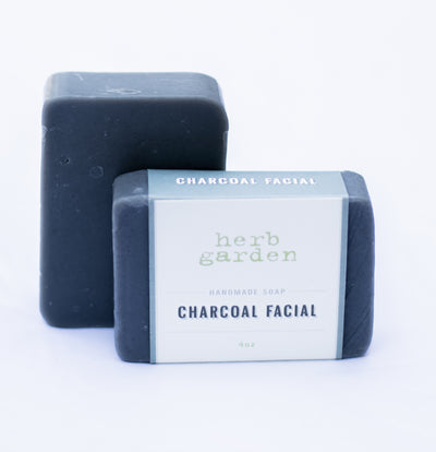 Handcrafted Soap - Charcoal Facial