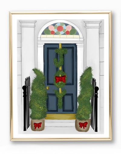 Holiday Entryway Art Print