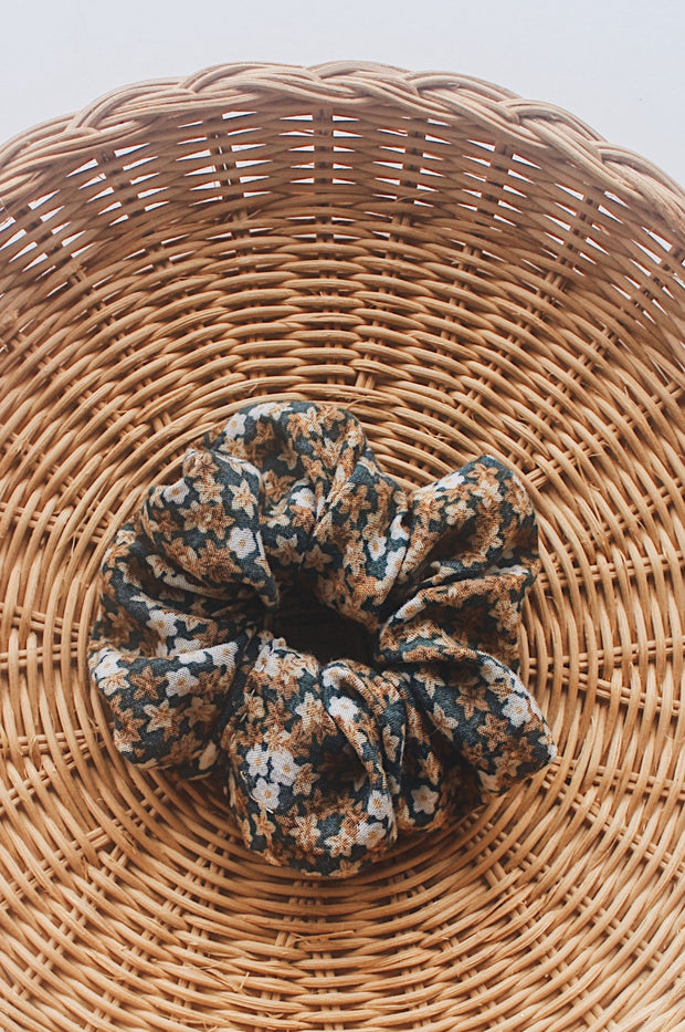 Fall Florals Scrunchie