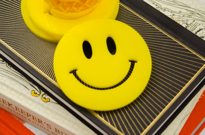Smiley Face Coaster Set