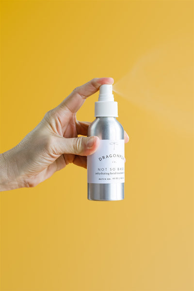not so basic rehydrating facial mist