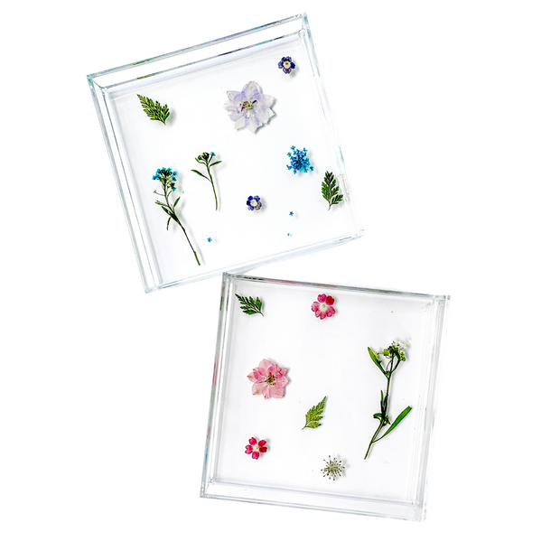 Floral Catch All Tray