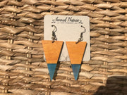 Popsicle Wood Earring