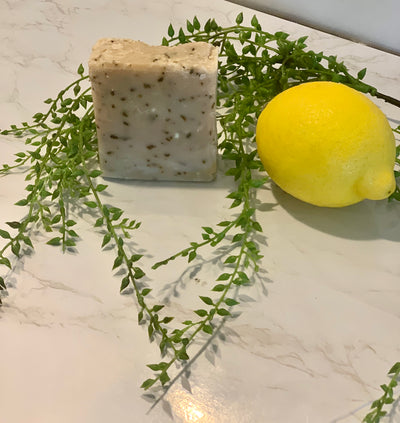 Hand Crafted Soap - Lemongrass and Ginger