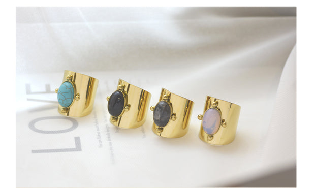 INTUITION RINGS - GENUINE SEMIPRECIOUS RINGS - GEMSTONE RINGS