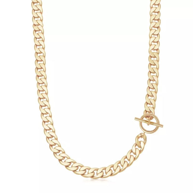 PRAGUE CHAIN NECKLACE - CUBAN CHAIN NECKLACE