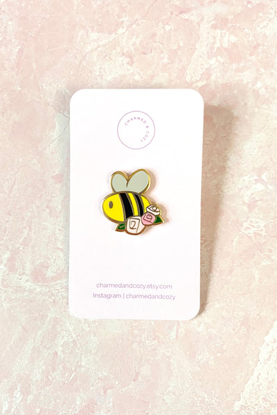 Cute Bee Hard Enamel Pin