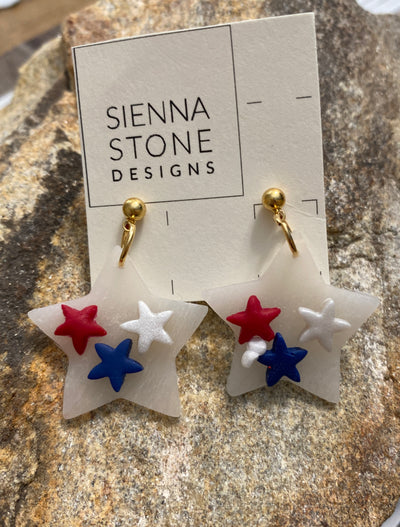 The Patriot Earring