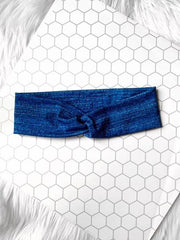 """It's Jean Day"" Knottie Headband"