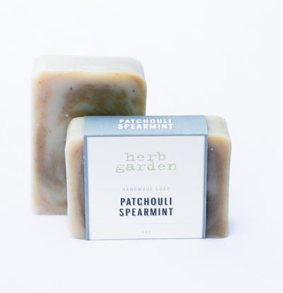 Handcrafted Soap - Patchouli Spearmint