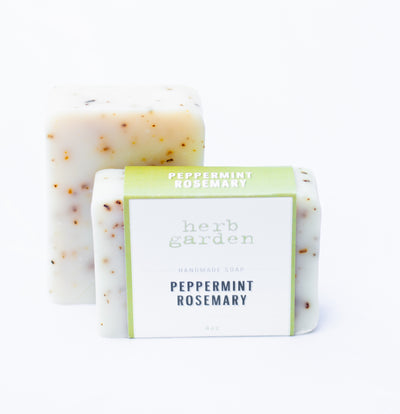 Handcrafted Soap - Peppermint Rosemary