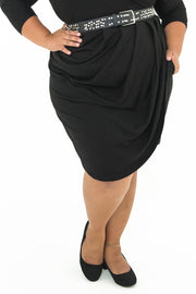 Swipe Skirt - Black