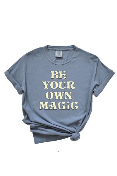 Be Magic Faded Blue Tee