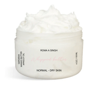 Whipped Body Butter - Gardenia Scented