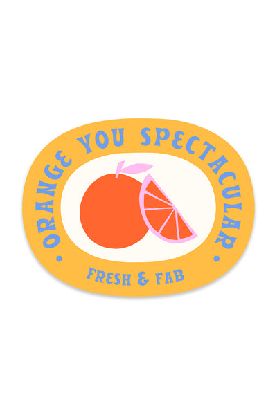 Spectacular Fruit Sticker
