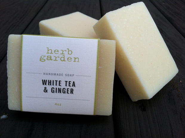 Handcrafted Soap - White Tea & Ginger