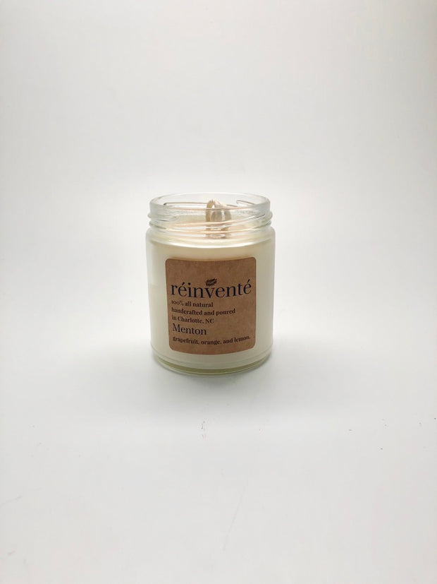 Menton - Hand-Poured Soy Candle