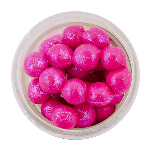 PowerBait Sparkle Power Eggs Floating Magnum Soft Bait Pink with Scales