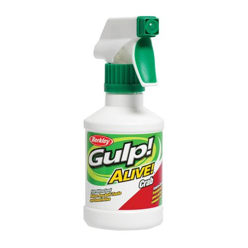 Gulp! Alive! Spray Attractant Crab, 8 oz Spray Bottle