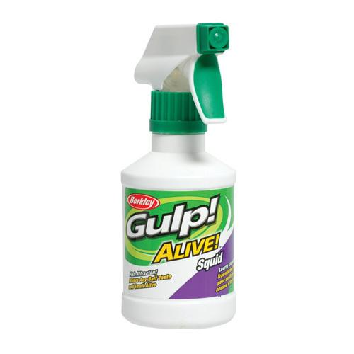 Gulp! Alive! Spray Attractant Squid, 8 oz Spray Bottle