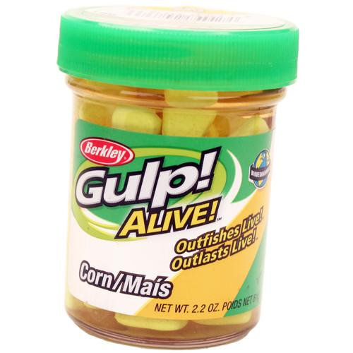 Gulp! Alive! Corn Soft Bait Yellow