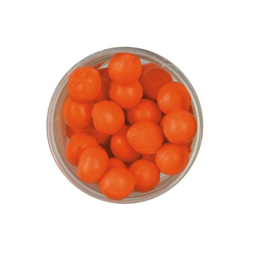 PowerBait Power Eggs Floating Magnum Soft Bait Garlic Scent/Flavor, Fluorescent Orange
