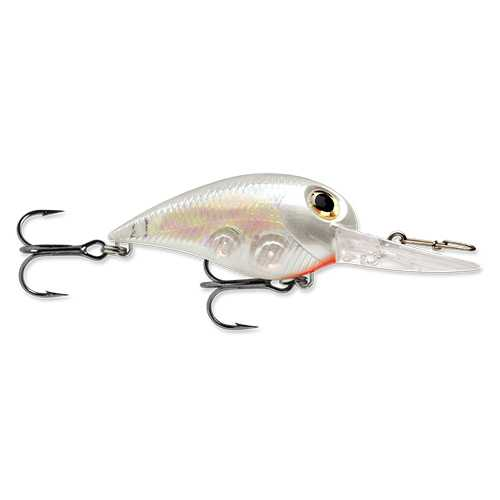 "Wiggle Wart MadFlash Hard Bait Lure 2"" Length, #6 Hook, 3/8 oz, 7'-18', Ghost Shad, Per 1"