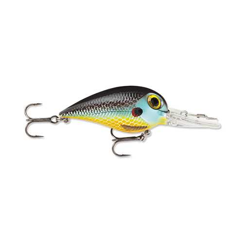 "Wiggle Wart MadFlash Hard Bait Lure 2"" Length, #6 Hook, 3/8 oz, 7'-18', Sunfish, Per 1"
